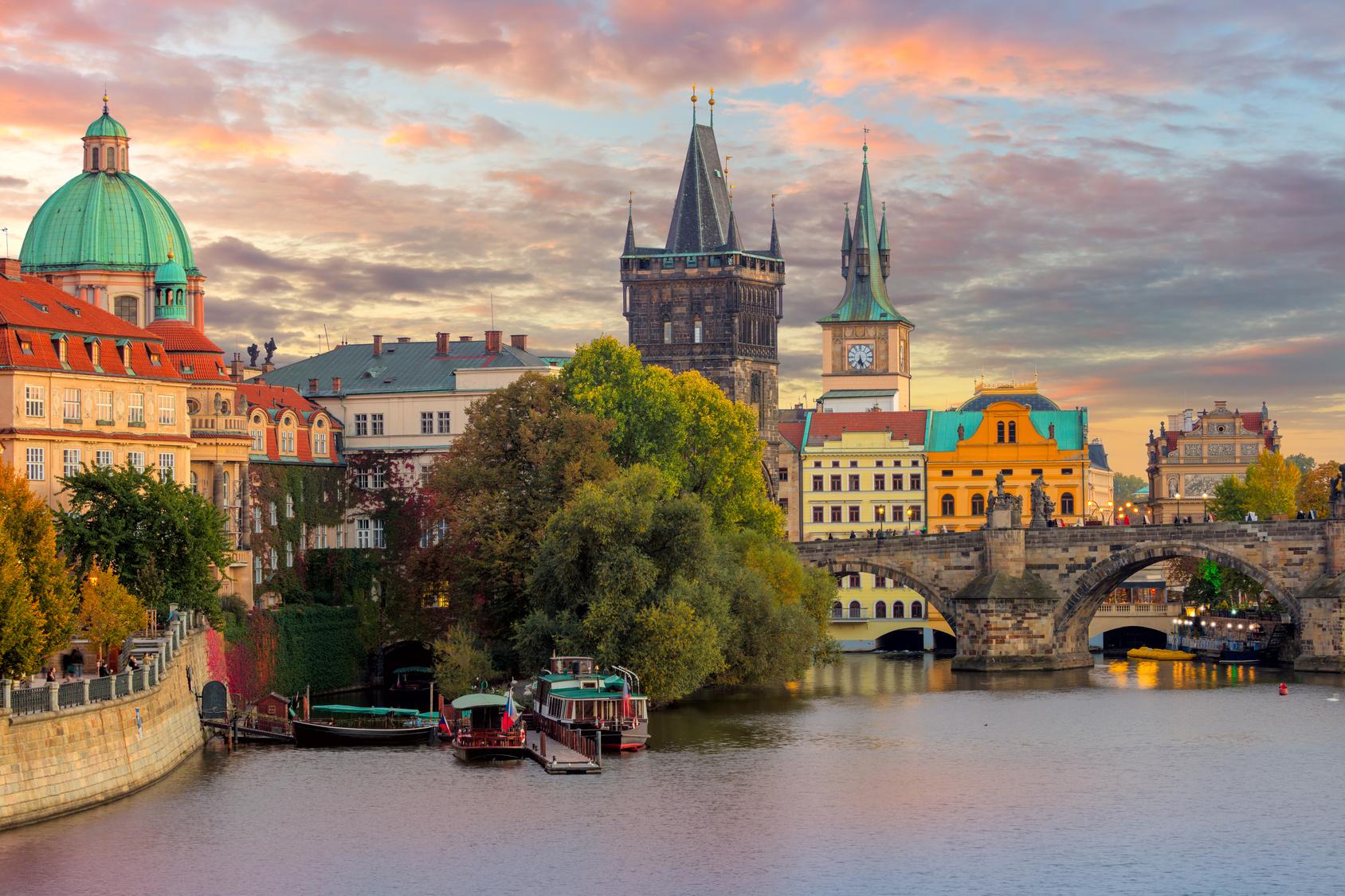 Prager tschechischer Republik datiert